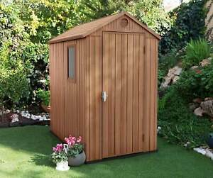 Keter Darwin 6x4 Garden Shed 1.2m x 1.8m Resin/Plastic Free Delivery