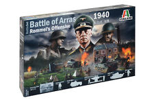 Italeri 6118 1/72 Diorama Model Kit WWII Battle of Arras 1940 Rommel's Offensive