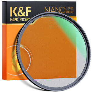 K&F Concept 1/4 Black Pro Mist Diffusion Filter 37/40.5/43/46mm Special Effects