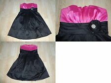 Women's Trixxi 5 Dress  Night Club Prom Homecoming Formal Pink & Black Bling Flo