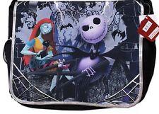 Nightmare Before Christmas: Jack & Sally Back To School Messenger Backpack