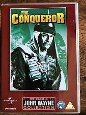 John Wayne, SUSAN HAYWARD el conquistador ~ 1953 Genghis Khan Epic GB DVD