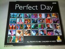 VARIOUS ARTISTS - PERFECT DAY - 1997 UK CD SINGLE LOU REED/BONO/DAVID BOWIE ETC