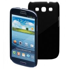 CUSTODIA CASE COVER PER SAMSUNG GALAXY S3 SLIM THIN SOTTILE NERA BLACK RIGIDA