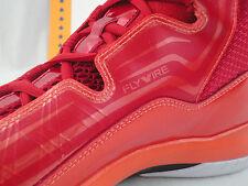 Nike Jordan Aero Mania, Size 11.5, Flywire, Gym Red Orange, Retail $120
