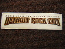 """KISS """"DETROIT ROCK CITY MOTION PICTURE""""  UNUSED BUMBER STICKER"""