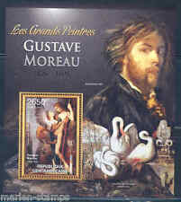 CENTRAL AFRICA 2012 GUSTAVE MOREAU SOUVENIR SHEET MINT NH