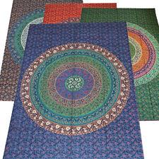 Tagesdecke Bettüberwurf Mandala Flowers Wandbehang Decke Tapestry Single