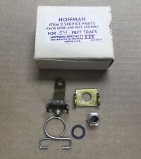 New Hoffman Item 2 Service Parts Valve Lever and Seat Assembly for 54 F&FT Traps