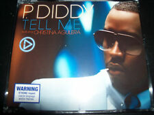 P. Diddy Feat Christina Aguilera Tell Me CD – Like New