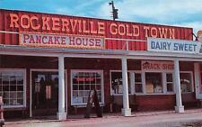 ROCKERVILLE, SD  South Dakota  GOLD TOWN Pancake House-Sweets  ROADSIDE Postcard