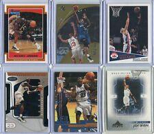 Michael Jordan 17 card Wizards lot Washington Wizards insert & promo cards