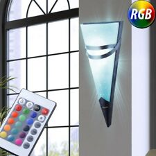 LED Wall Torch Light RGB Dimmer Remote Control Living Room Lamp rostfarbe