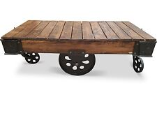 Montreal Vintage Railway Sleeper Timber Coffee Table