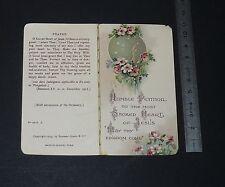 CHROMO 1920-1929 IMAGE PIEUSE CATHOLICISME HOLY CARD SACRED HEART OF JESUS