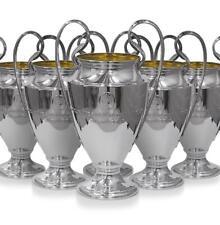 UEFA Champions League Porte-cl/és Troph/ée en 3D avec Le Logo FC Barcelone