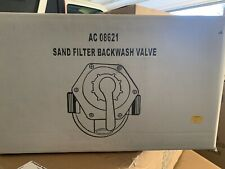 Blue Torrent AC 08621 6 Way Sand Filter Replacement Backwash Valve New