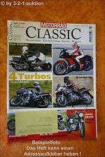 Motorrad Classic 2/05 Honda CX 500 Turbo Z 750 MZ 125
