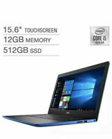 """Dell Inspiron 3593 15.6"""" FHD TOUCH i5-1035G1 12 512 SSD i3593-5551BLU-PUS Blue"""