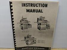 DoAll D6-D8-D10 Series Grinder Instruction Manual