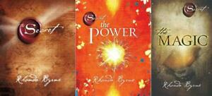 The Secret, The Power & The Magic by Rhonda Byrne - 3 Book Set