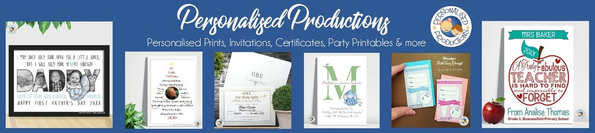 Personalised Productions