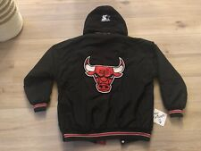 Chicago bulls nba Starter Jacket XL vintage-Michael air jordan 1 Travis chaqueta