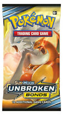 1 x Pokemon TCG Sun and Moon Unbroken Bonds Booster Pack - Brand New & Sealed