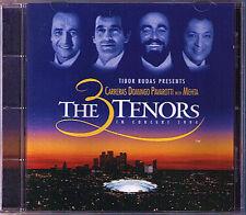CARRERAS DOMINGO PAVAROTTI 3 Tenors in LA 1994 ZUBIN MEHTA CD Three Los Angeles