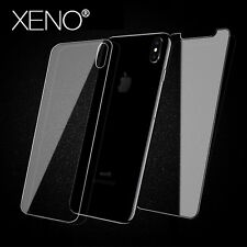 Glass Screen Protector HD Clear Front And Back Anti-Scratches For IPhone 8 X