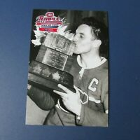 JEAN BELIVEAU  Montreal Canadiens  postcard Hall of Fame Loto Quebec Conn Smythe