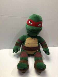 Michelangelo Teenage Mutant Ninja Turtle Flip Face Plush Build A Bear Toy