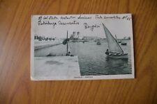 CARTOLINA BENGASI MARINA VIAGGIATA 1940 SUBALPINA RR
