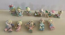 11 PC LOT PRECIOUS MOMENTS CHRISTMAS ORNAMENTS