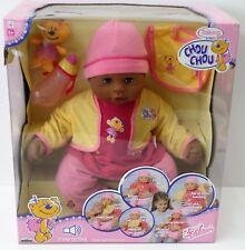 Zapf Creation Talking Chou Chou - Baby Puppe 2 Sprachen - 2006 - 48cm- NEU NEW