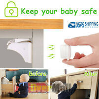 Eco-Baby 4-20Packs Safety Magnetic Cabinet and Drawer Locks for Proofing Kitchen