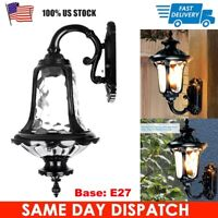 E27 Outdoor Waterproof Retro Wall Light Sconce Exterior Porch Lighting Fixture