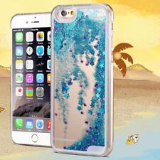 Liquid Glitter Water Sparkly Floating Stars Bling Case Cover For Samsung iPhone