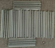 """LIONEL FASTRACK 10"""" STRAIGHT 6-12014, LOT OF (8). USED, VERY FINE SHAPE $3.75 EA"""