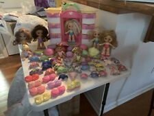 Fisher Price SNAP 'N STYLE 8 Dolls, Clothes, Wardrobe Storage & Crib!