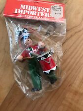 Vintage Drummer Christmas Ornament by Midwest Importers of Cannon Falls Nip