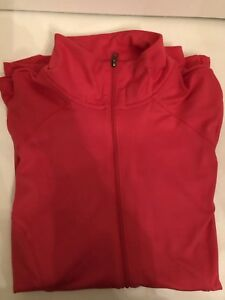 Champion collar zip up sweatshirt/jacket SP Magenta