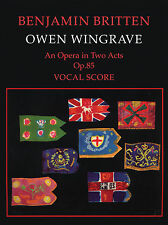 Owen Wingrave Opera 20th Century Orchestra Chorus Soloists FABER Music BOOK