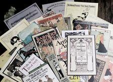 Vintage Scrapbook Paper Collection Junk Journal Kit Canvas Wove Parchment Paper
