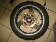 Ruote complete d'argento per moto Kawasaki