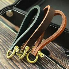 Leather Keychain Echtleder Schlüsselbund Dicker Schildkröten-Rissschlüsselhalter