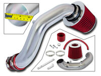 BCP RED 02-06 Acura RSX Base 2.0L Short Ram Air Intake Racing System + Filter
