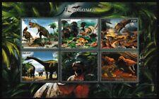 Dinosaurs miniature sheet mnh Tyrannosaurus dino babies raptor (s2)