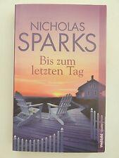 Nicholas Sparks Bis zum letzten Tag Liebesroman Weltbild Verlag