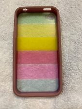 For iPhone 4 Rainbow Cover